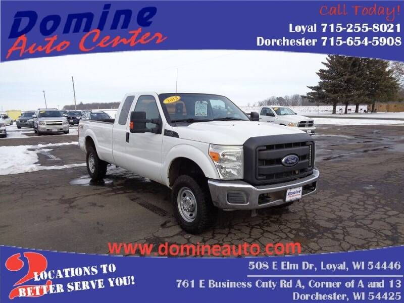 2015 Ford F-250 Super Duty for sale at Domine Auto Center - commercial vehicles in Loyal WI