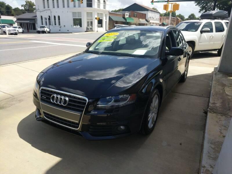 2010 Audi A4 for sale at ROBINSON AUTO BROKERS in Dallas NC