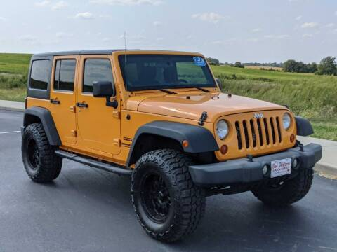 2012 Jeep Wrangler Unlimited for sale at Bob Walters Linton Motors in Linton IN