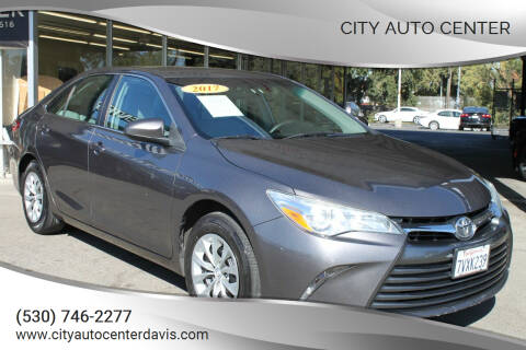 2017 Toyota Camry for sale at City Auto Center in Davis CA