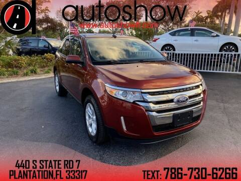 2014 Ford Edge for sale at AUTOSHOW SALES & SERVICE in Plantation FL