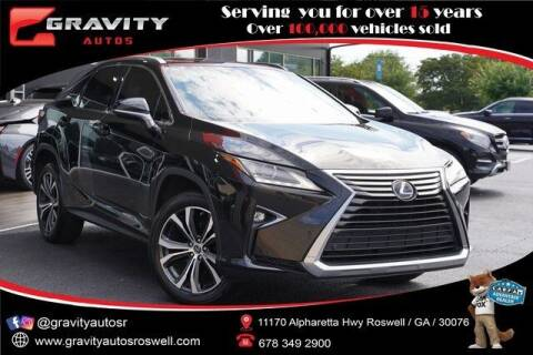 2018 Lexus RX 350 for sale at Gravity Autos Roswell in Roswell GA