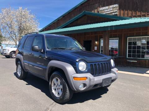 2003 Jeep Liberty for sale at Coeur Auto Sales in Hayden ID