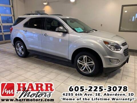 2017 Chevrolet Equinox for sale at Harr's Redfield Ford in Redfield SD