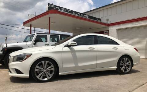 2015 Mercedes-Benz CLA for sale at FAST LANE AUTO SALES in San Antonio TX
