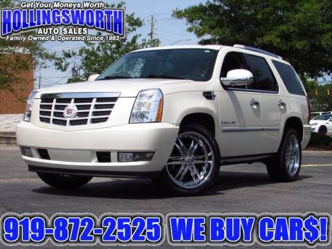 2007 Cadillac Escalade for sale at Hollingsworth Auto Sales in Raleigh NC