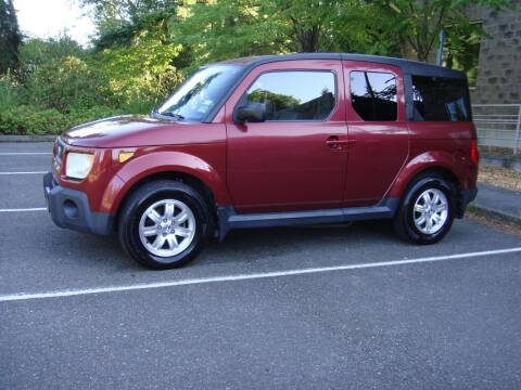 2006 Honda Element for sale at Western Auto Brokers in Lynnwood WA