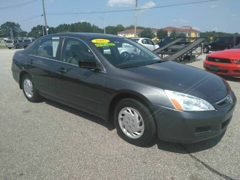 2007 Honda Accord for sale at Kelly & Kelly Supermarket of Cars in Fayetteville NC