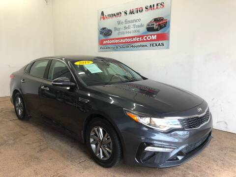 2019 Kia Optima for sale at Antonio's Auto Sales - Antonio`s  3001 in Pasadena TX