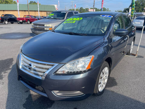 2015 Nissan Sentra for sale at Cars for Less in Phenix City AL
