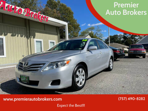 2010 Toyota Camry for sale at Premier Auto Brokers in Virginia Beach VA