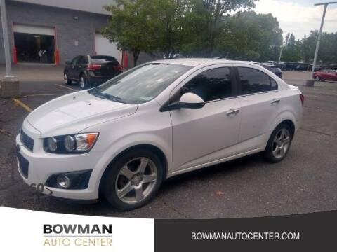 2014 Chevrolet Sonic for sale at Bowman Auto Center in Clarkston MI