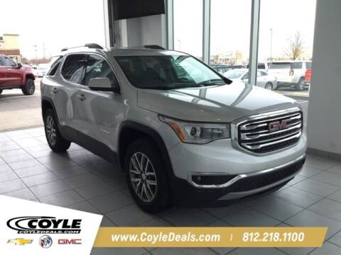 2018 GMC Acadia for sale at COYLE GM - COYLE NISSAN in Clarksville IN