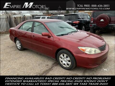 2004 Toyota Camry for sale at Empire Motors LTD in Cleveland OH