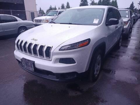2014 Jeep Cherokee for sale at Northwest Van Sales in Portland OR