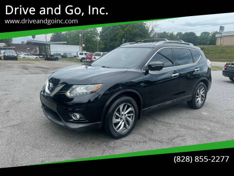 2014 Nissan Rogue for sale at Drive and Go, Inc. in Hickory NC