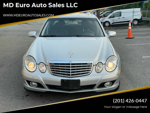 2007 Mercedes-Benz E-Class for sale at MD Euro Auto Sales LLC in Hasbrouck Heights NJ