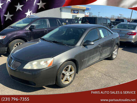 2007 Pontiac G6 for sale at Paris Auto Sales & Service in Big Rapids MI