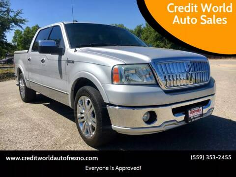 2007 Lincoln Mark LT for sale at Credit World Auto Sales in Fresno CA