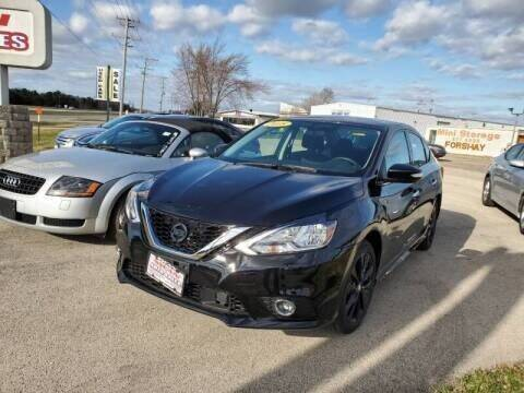 2018 Nissan Sentra for sale at Swan Auto in Roscoe IL