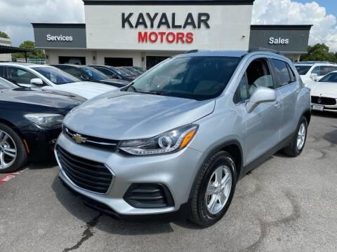 2017 Chevrolet Trax for sale at KAYALAR MOTORS in Houston TX