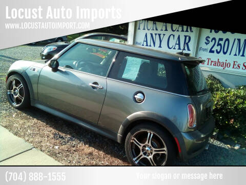 2006 MINI Cooper for sale at Locust Auto Imports in Locust NC