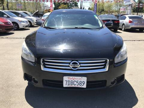 2013 Nissan Maxima for sale at EXPRESS CREDIT MOTORS in San Jose CA