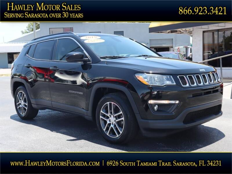2019 Jeep Compass for sale at Hawley Motor Sales in Sarasota FL