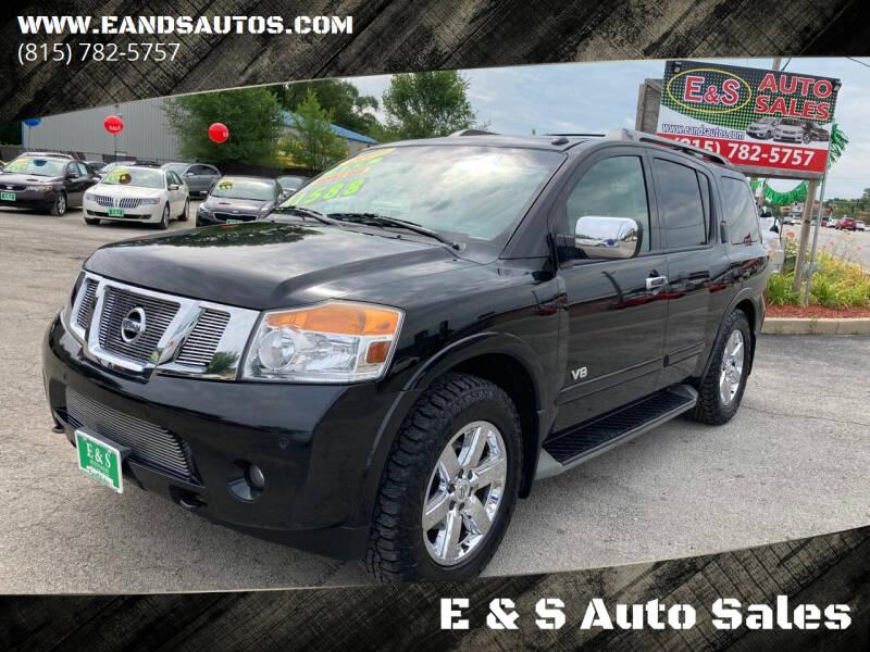 2009 Nissan Armada for sale at E & S Auto Sales in Crest Hill IL