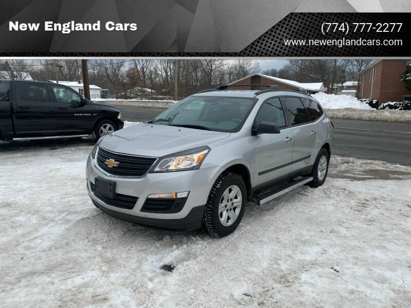 2013 Chevrolet Traverse for sale at New England Cars in Attleboro MA