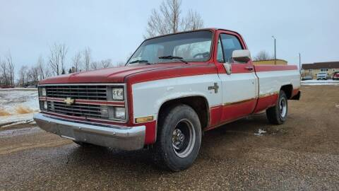 1984 Chevrolet C/K 10 Series for sale at Sinner Auto in Waubay SD