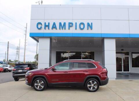 2019 Jeep Cherokee for sale at Champion Chevrolet in Athens AL