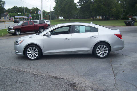 2014 Buick LaCrosse for sale at Blackwood's Auto Sales in Union SC