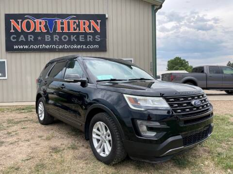 2017 Ford Explorer for sale at Northern Car Brokers in Belle Fourche SD