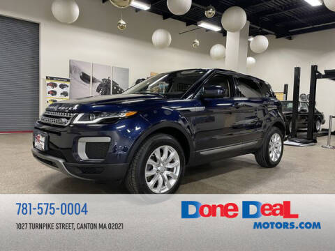 2016 Land Rover Range Rover Evoque for sale at DONE DEAL MOTORS in Canton MA