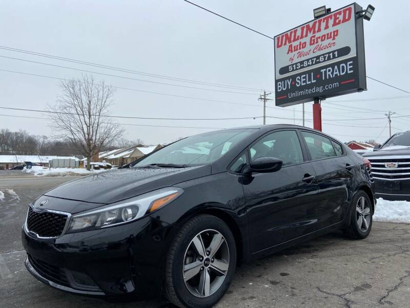 2018 Kia Forte for sale at Unlimited Auto Group in West Chester OH