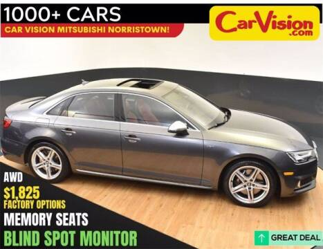2018 Audi S4 for sale at Car Vision Buying Center in Norristown PA