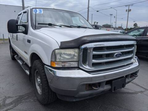 2003 Ford F-250 Super Duty for sale at GREAT DEALS ON WHEELS in Michigan City IN