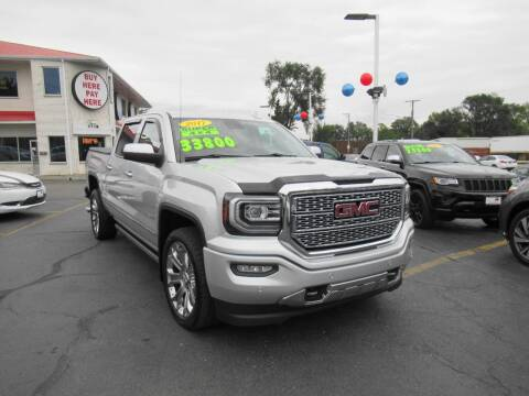 2017 GMC Sierra 1500 for sale at Auto Land Inc in Crest Hill IL