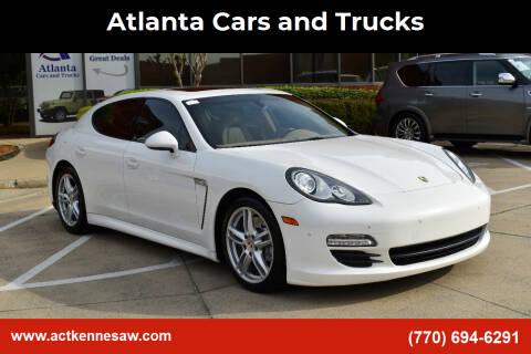 2012 Porsche Panamera for sale at Atlanta Cars and Trucks in Kennesaw GA