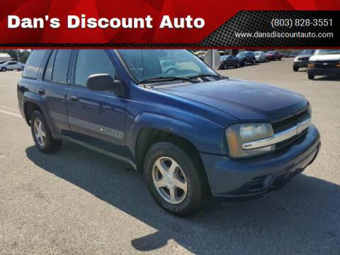2004 Chevrolet TrailBlazer for sale at Dan's Discount Auto in Gaston SC