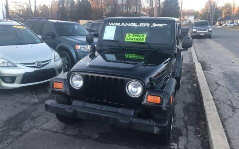 2005 Jeep Wrangler for sale at Washington Auto Repair in Washington NJ