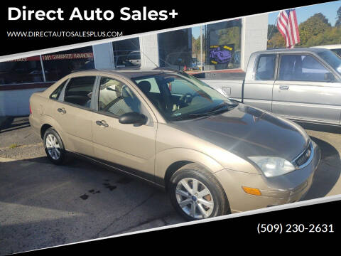 2005 Ford Focus for sale at Direct Auto Sales+ in Spokane Valley WA