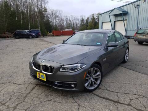 2014 BMW 5 Series for sale at Granite Auto Sales in Spofford NH
