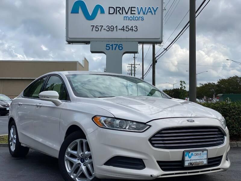 2014 Ford Fusion for sale at Driveway Motors in Virginia Beach VA