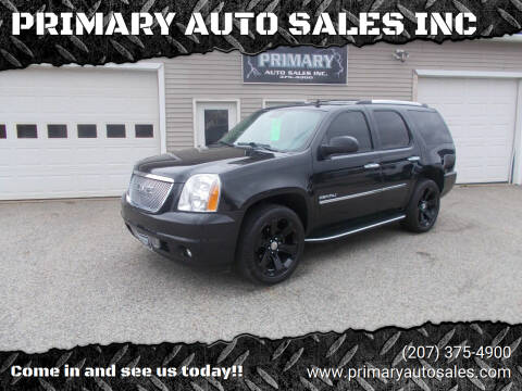 2013 GMC Yukon for sale at PRIMARY AUTO SALES INC in Sabattus ME