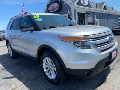 2015 Ford Explorer for sale at Cape Cod Carz in Hyannis MA