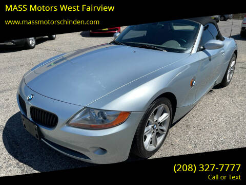 2003 BMW Z4 for sale at MASS Motors West Fairview in Boise ID