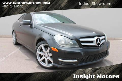 2013 Mercedes-Benz C-Class for sale at Insight Motors in Tempe AZ