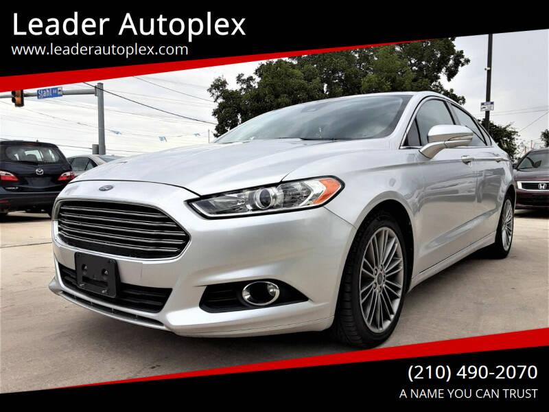 2013 Ford Fusion for sale at Leader Autoplex in San Antonio TX